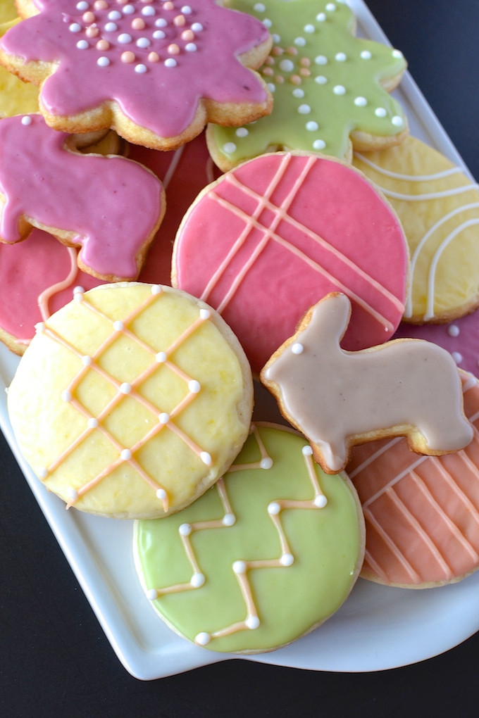 Soft Cut Out Sugar Cookies  The Best Egg Free Sugar Cookies Sweet Peas and ABCs