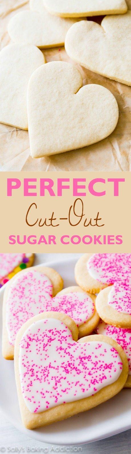 Soft Cut Out Sugar Cookies  Soft Cut Out Sugar Cookies Recipe