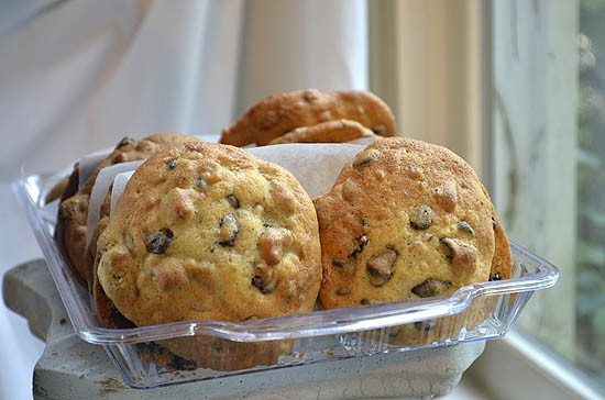 Sour Cream Chocolate Chip Cookies  Mad About Maida Chocolate Chip Sour Cream Cookies