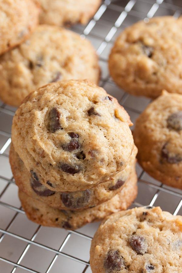 Sour Cream Chocolate Chip Cookies  Sour Cream Chocolate Chip Cookies