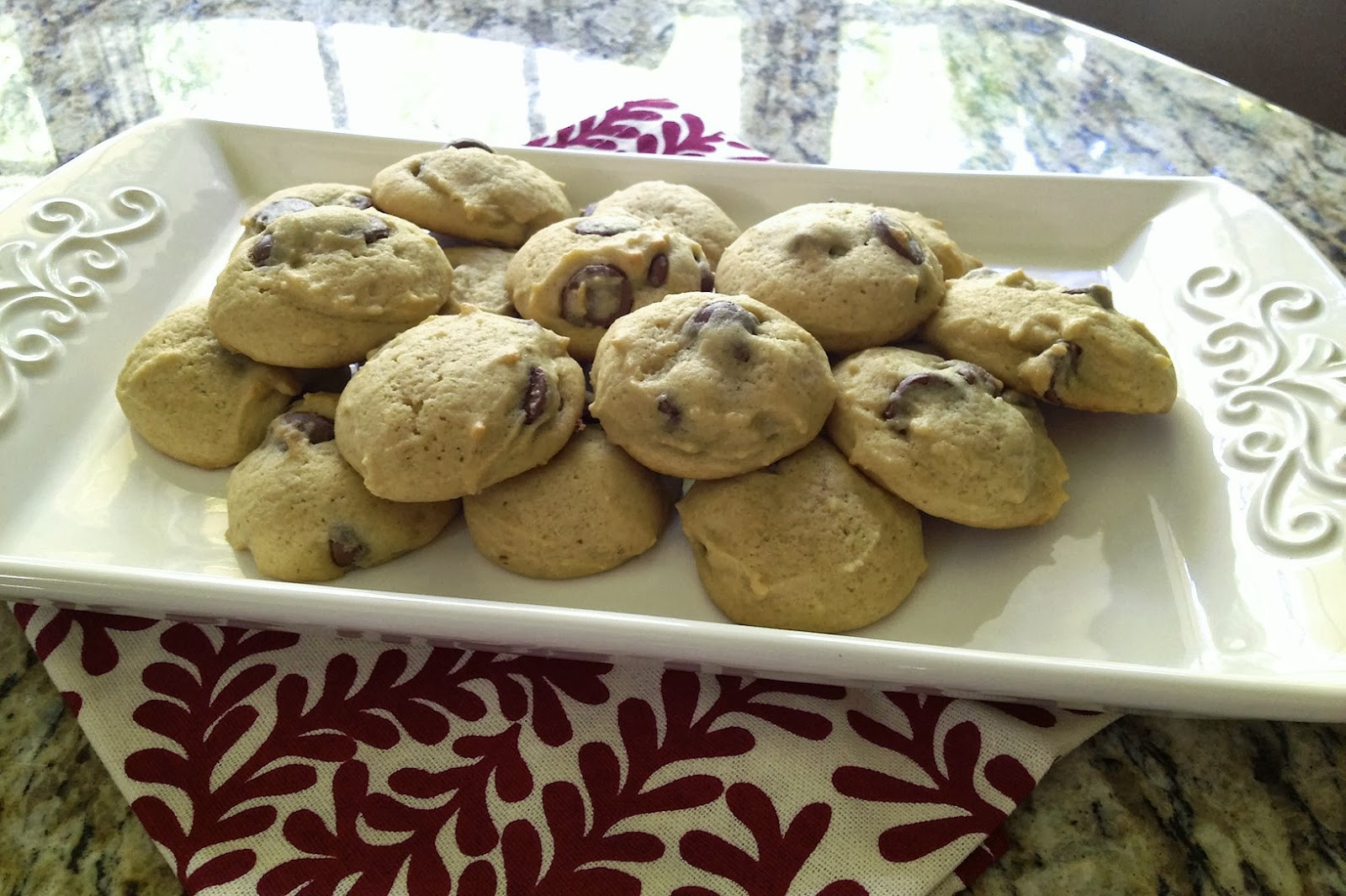 Sour Cream Chocolate Chip Cookies  Boy Cheese Sandwich Sour Cream Chocolate Chip Cookies