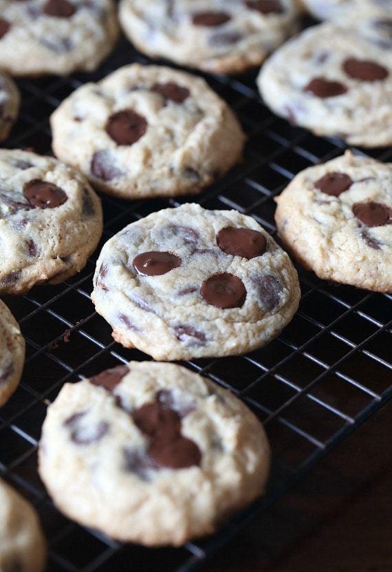 Sour Cream Chocolate Chip Cookies  Sour Cream Chocolate Chip Cookies Cookies and Cups