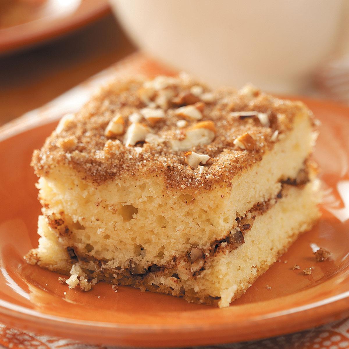 Sour Cream Coffee Cake  Sour Cream Streusel Coffee Cake Recipe