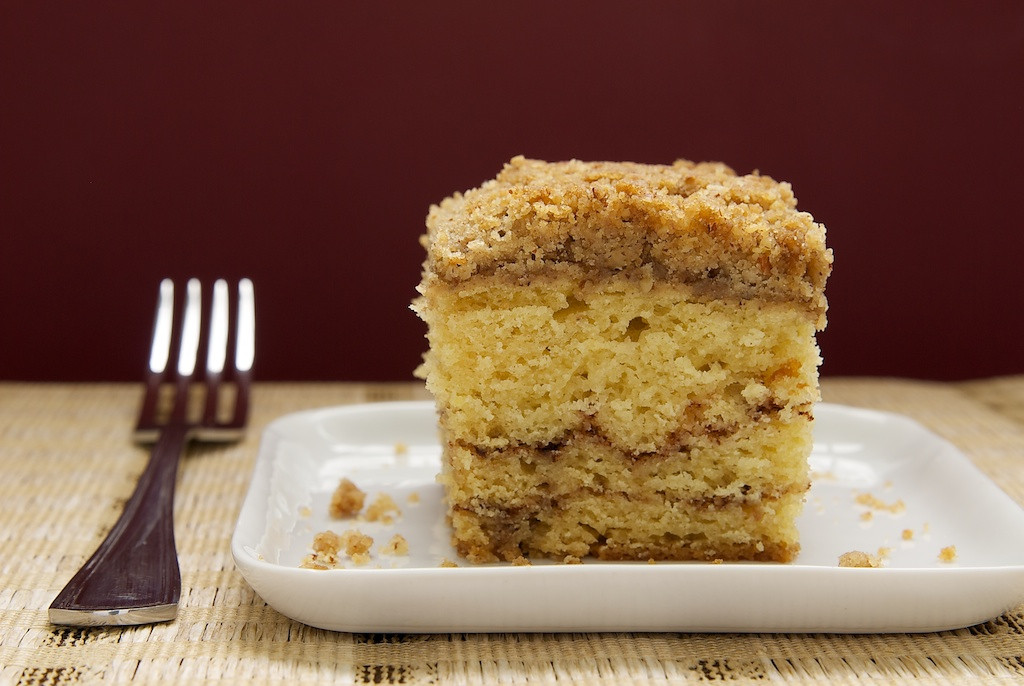 Sour Cream Coffee Cake  Sour Cream Coffee Cake with Chocolate Cinnamon Swirl