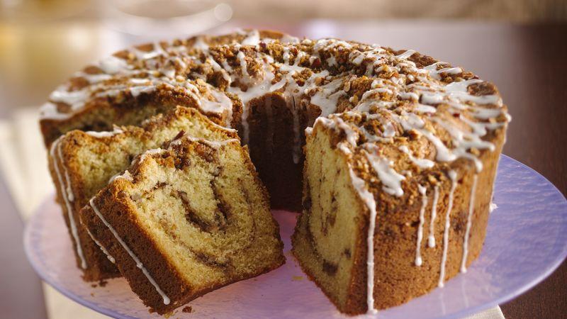 Sour Cream Coffee Cake  Classic Sour Cream Coffee Cake recipe from Betty Crocker