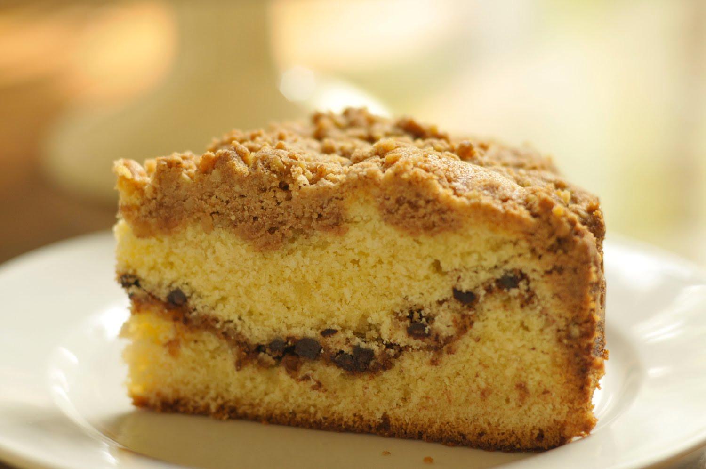 Sour Cream Coffee Cake  Sour Cream Coffee Cake and a meeting