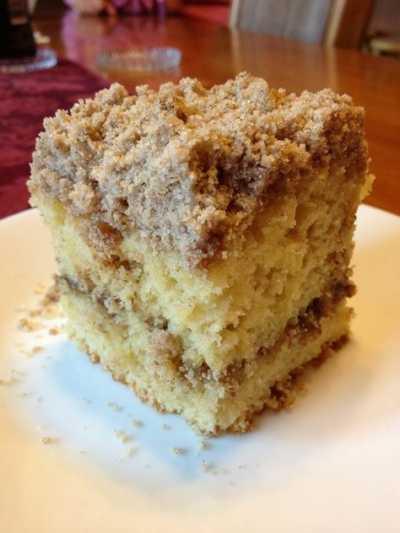 Sour Cream Coffee Cake  Cake Mix Sour Cream Coffee Cake