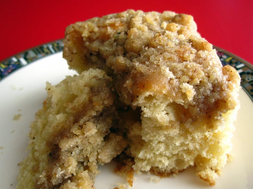Sour Cream Coffee Cake  Recipe Sour Cream Coffee Cake NPR