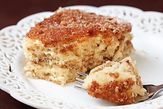 Sour Cream Coffee Cake  Sour Cream Coffee Cake