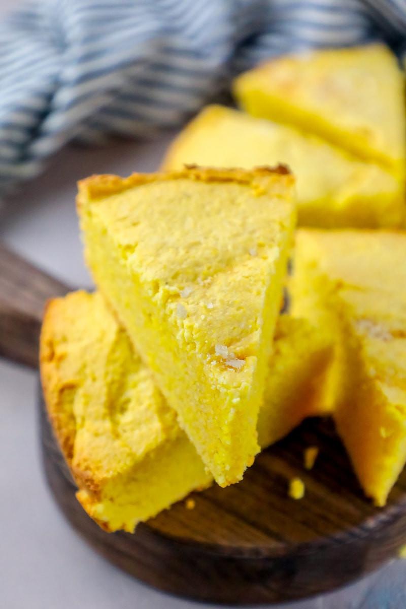 Sour Cream Cornbread  Easy Sour Cream Cornbread Recipe Sweet Cs Designs