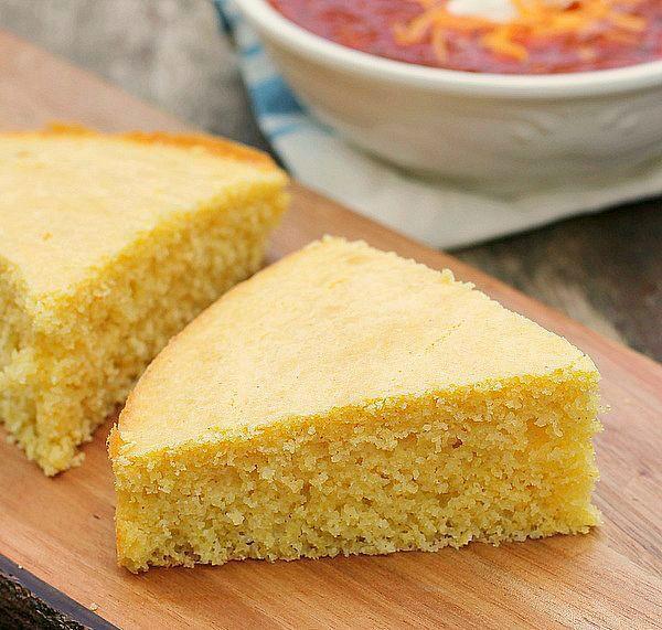 Sour Cream Cornbread  Cheddar Sour Cream Cornbread Recipe — Dishmaps