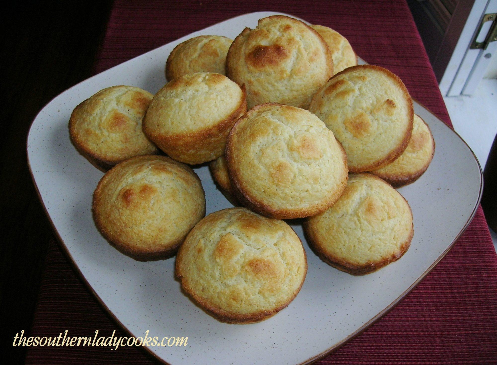 Sour Cream Cornbread  CORNBREAD MUFFINS WITH SOUR CREAM The Southern Lady Cooks