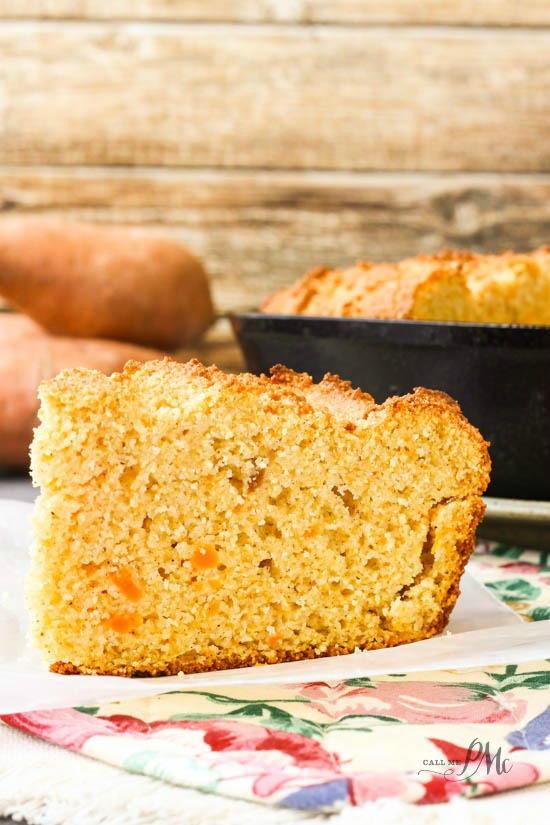 Sour Cream Cornbread  Sweet Potato Sour Cream Cornbread