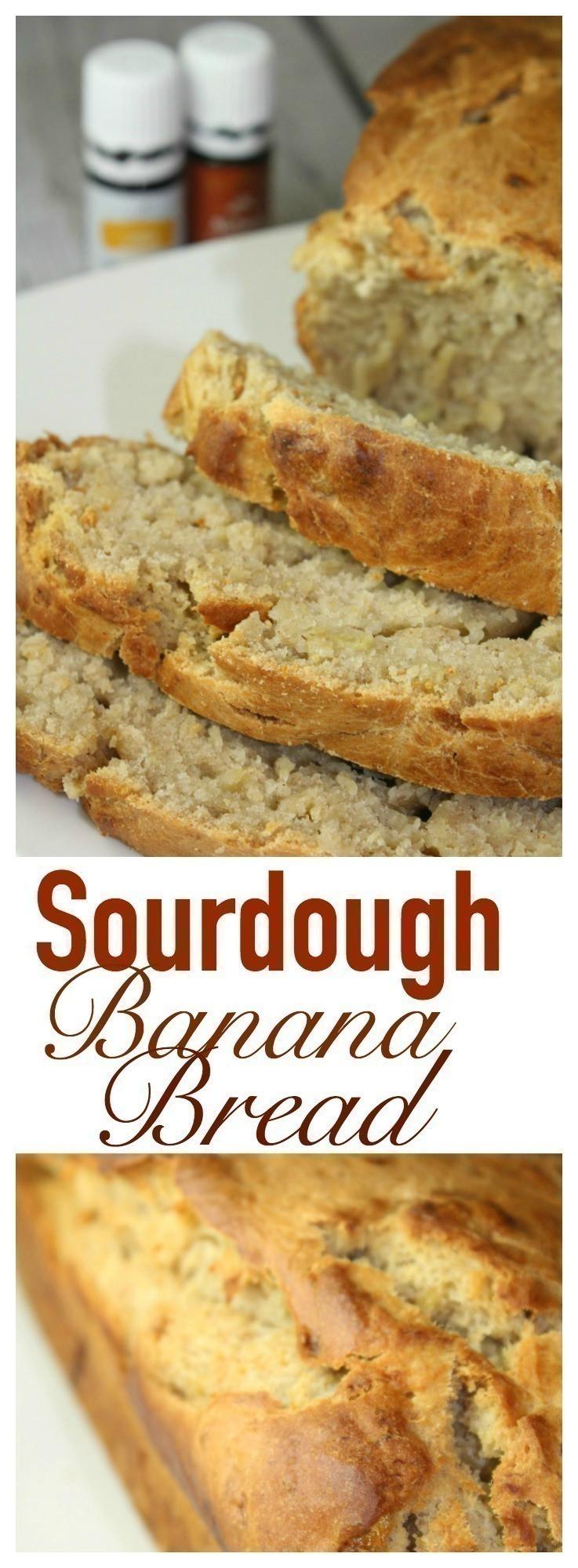 Sourdough Banana Bread  Sourdough Banana Bread