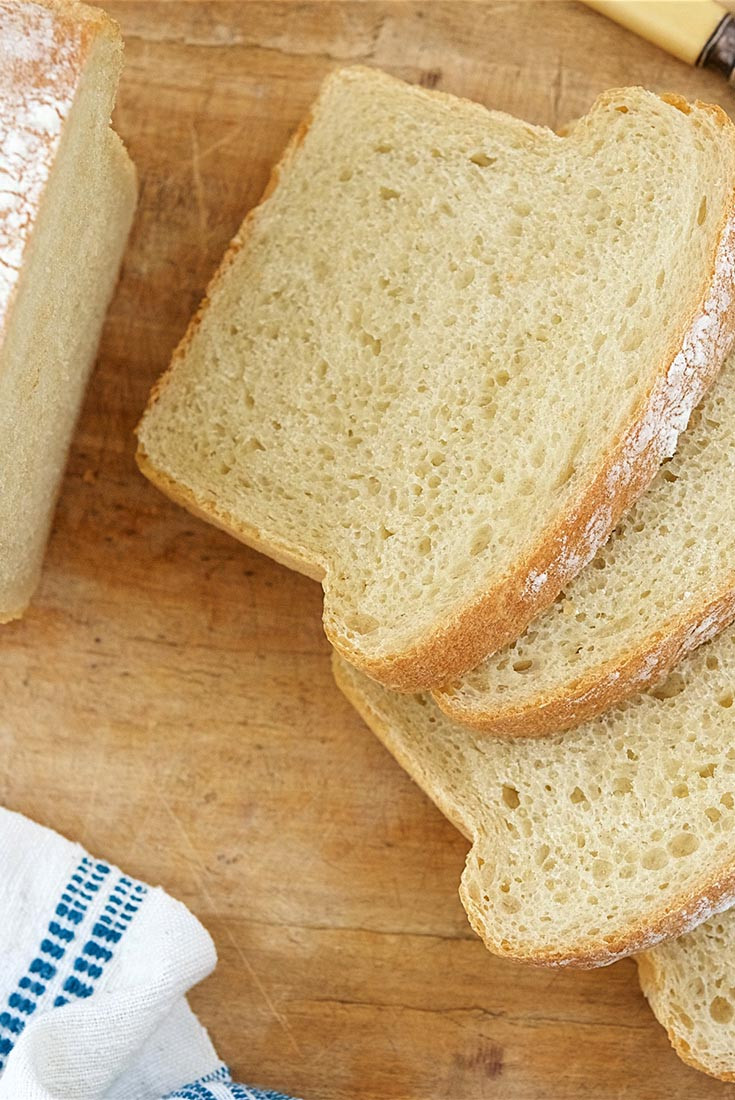 Sourdough Bread Machine Recipe  Basic Sourdough Bread Recipe