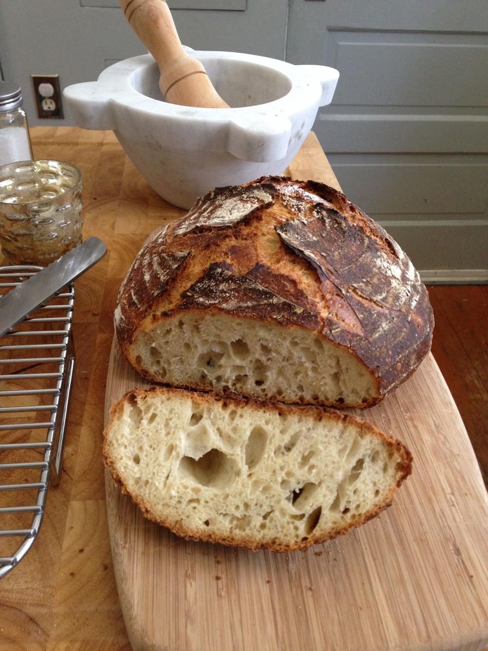 Sourdough Bread Recipe With Starter  sourdough starter potato
