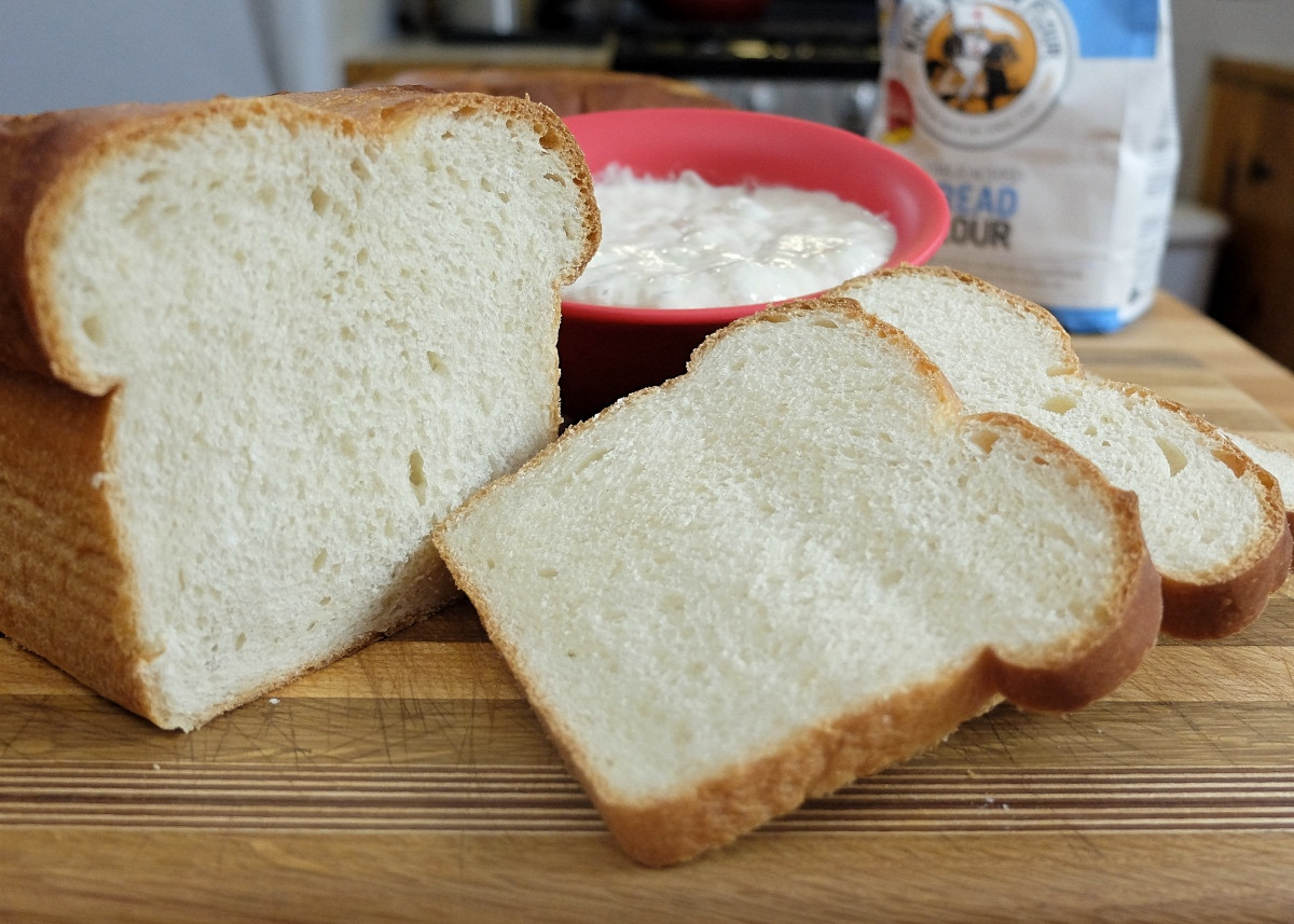 Sourdough Sandwich Bread  Levain for sandwich bread Flourish King Arthur Flour