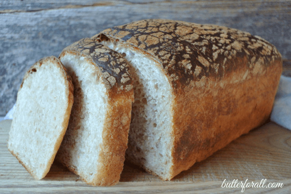 Sourdough Sandwich Bread  Butter Top Sourdough Sandwich Bread • Butter For All