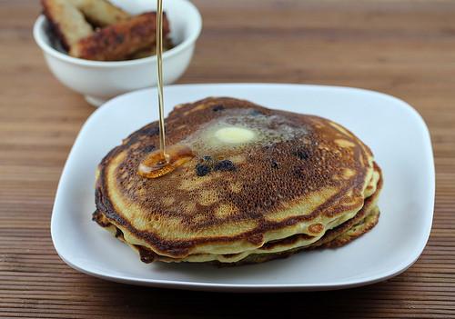 Sourdough Starter Pancakes  Blueberry Sourdough Pancakes with sourdough starter recipe