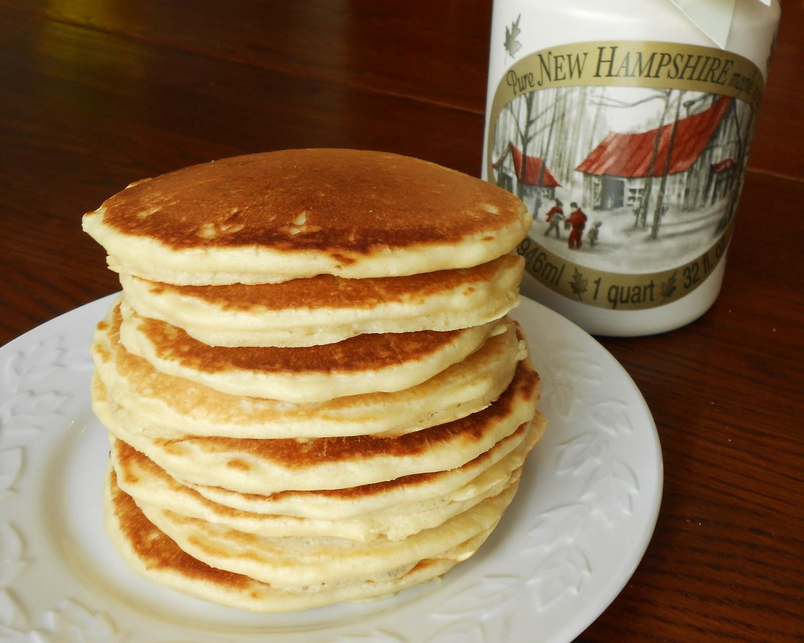 Sourdough Starter Pancakes  Baking Outside the Box April 2013