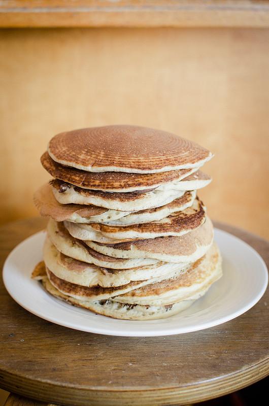 Sourdough Starter Pancakes  [Recipe] Easy Sourdough Pancakes