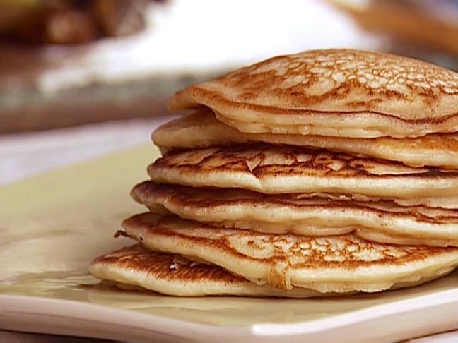 Sourdough Starter Pancakes  Sourdough Pancakes Recipe Alex Guarnaschelli Food Network