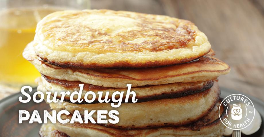 Sourdough Starter Pancakes  sourdough pancakes from discarded starter