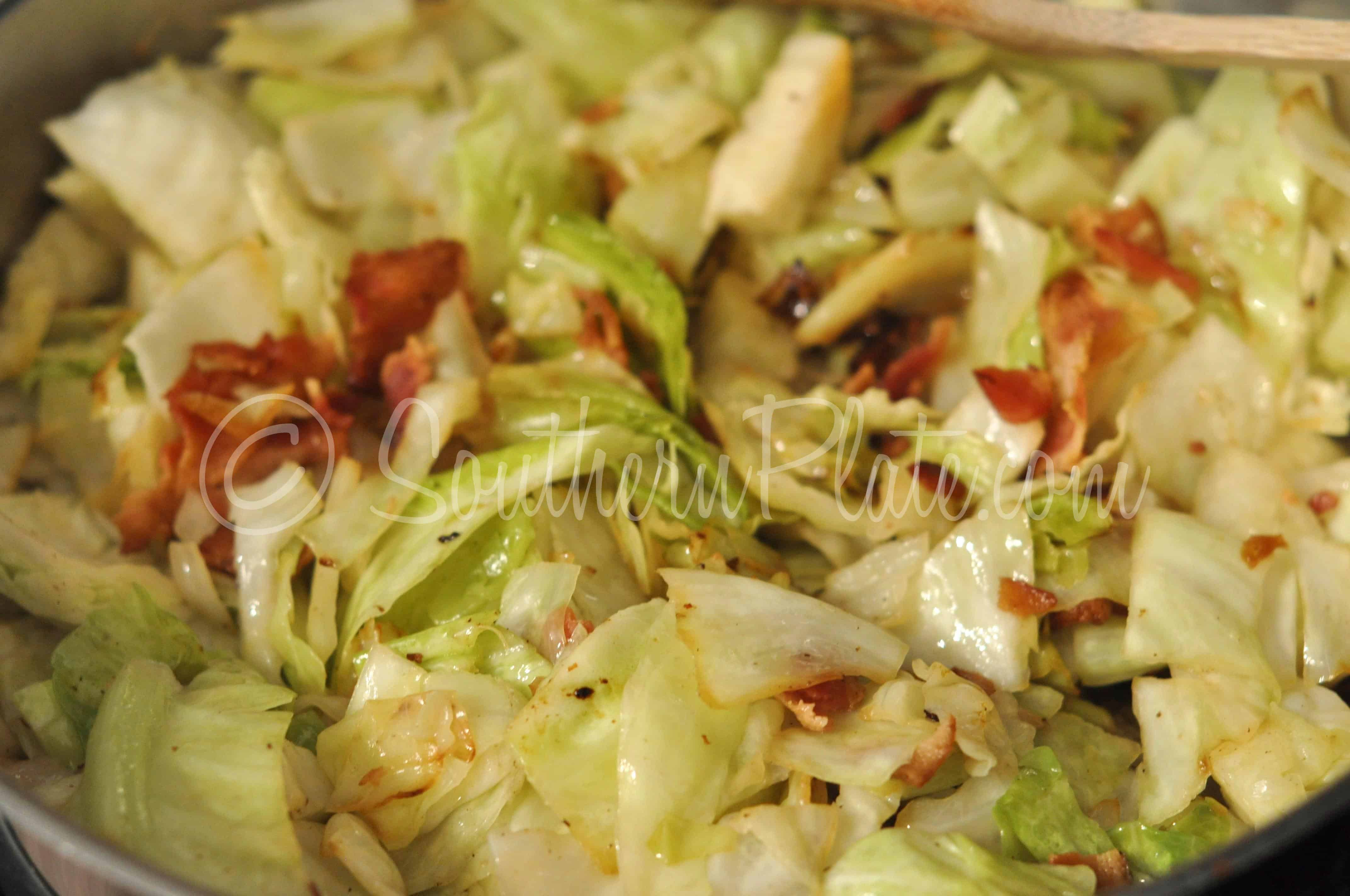Southern Bacon Fried Cabbage  Fried Cabbage and Southern Misconceptions
