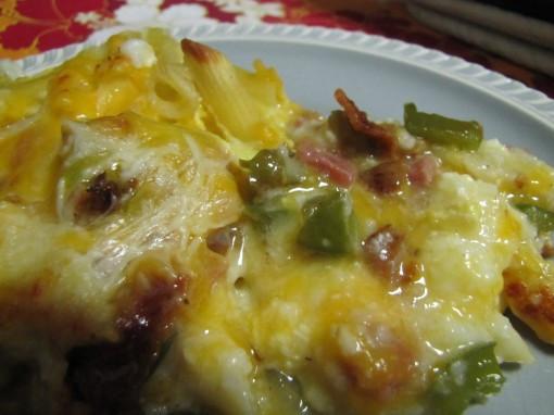 Southern Breakfast Recipes  Southern Breakfast Pasta Bake
