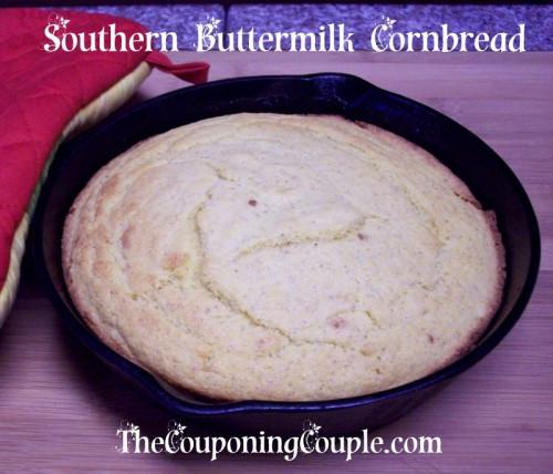 Southern Buttermilk Cornbread  Southern Buttermilk Cornbread Recipe Not just for