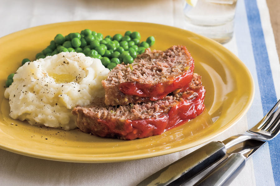 Southern Meatloaf Recipe  Mama s Way Bev s Famous Meatloaf Easy Southern Living