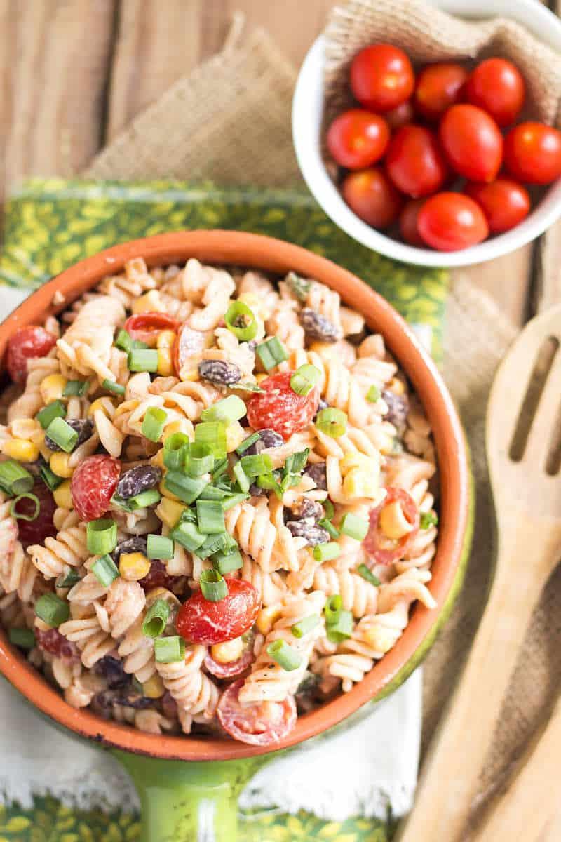 Southwest Pasta Salad  Southwest Pasta Salad