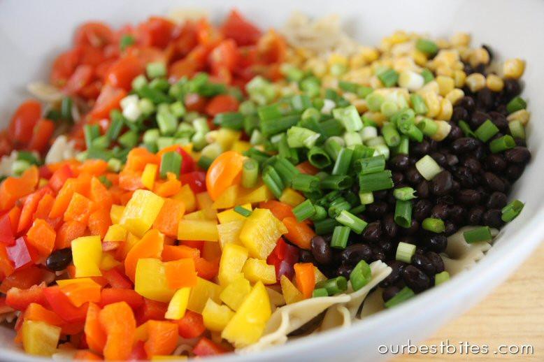 Southwest Pasta Salad  Southwest Pasta Salad Our Best Bites