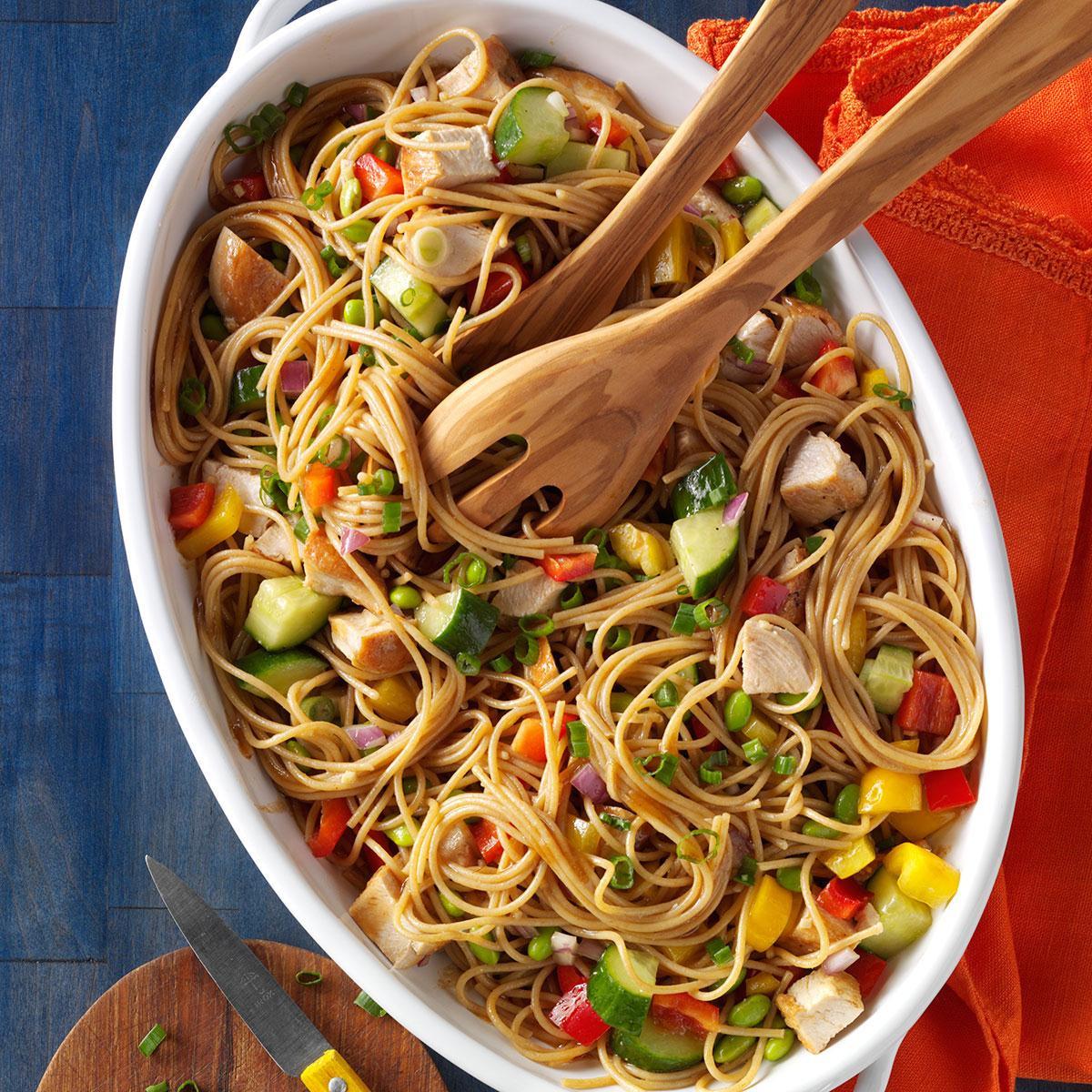 Spaghetti Salad Recipes  Gingered Spaghetti Salad Recipe
