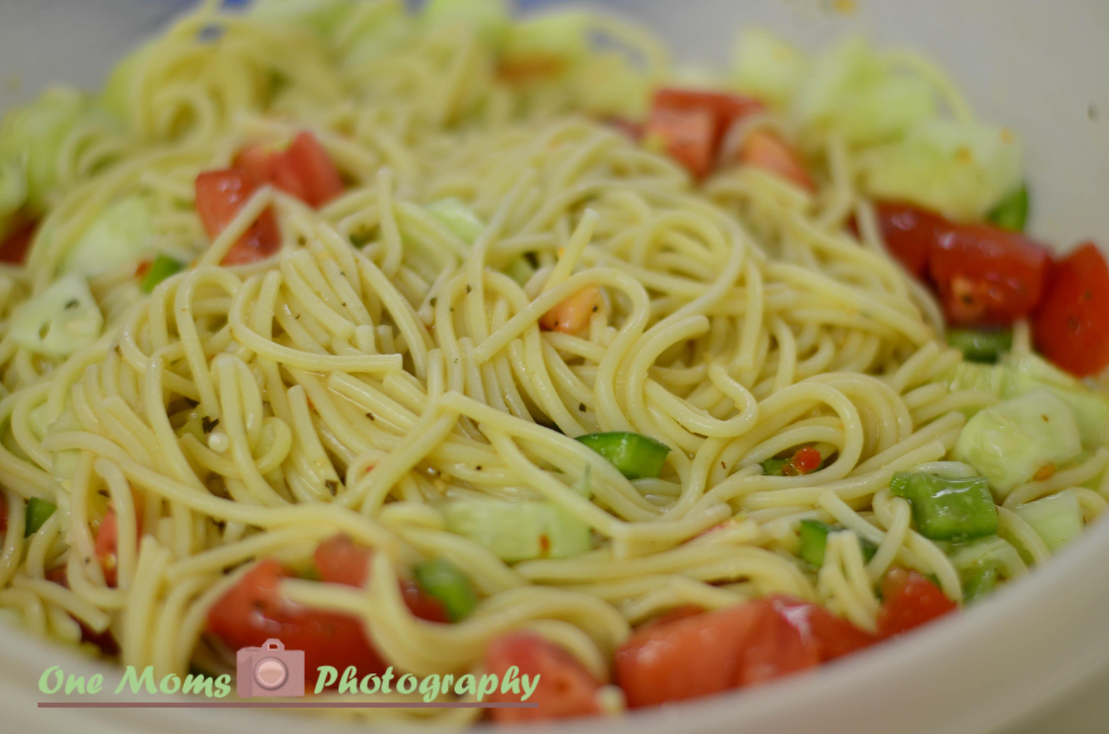 Spaghetti Salad Recipes  summer spaghetti salad