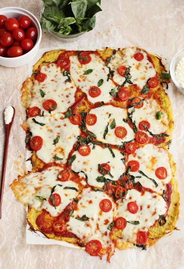 Spaghetti Squash Pizza Crust  24 Low Carb Spaghetti Squash Recipes That Are Actually