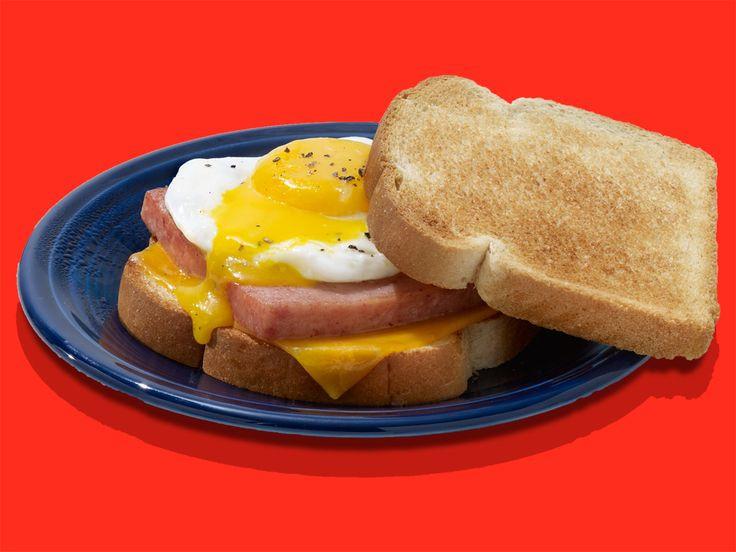 Spam Breakfast Recipes  SPAM Breakfast Muffinwich Recipe Recipes