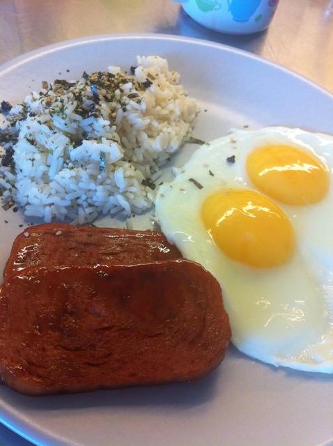 Spam Breakfast Recipes  How to Make a Hawaiian Style Spam Breakfast Recipe Snapguide