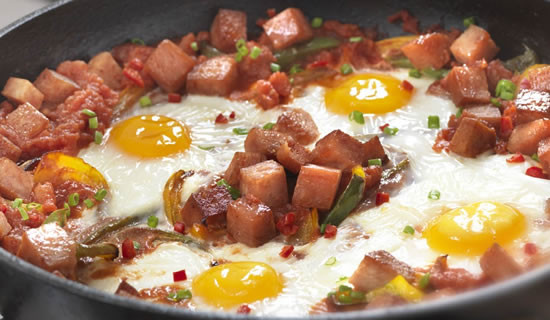 Spam Breakfast Recipes  ficial UK SPAM Website Recipes