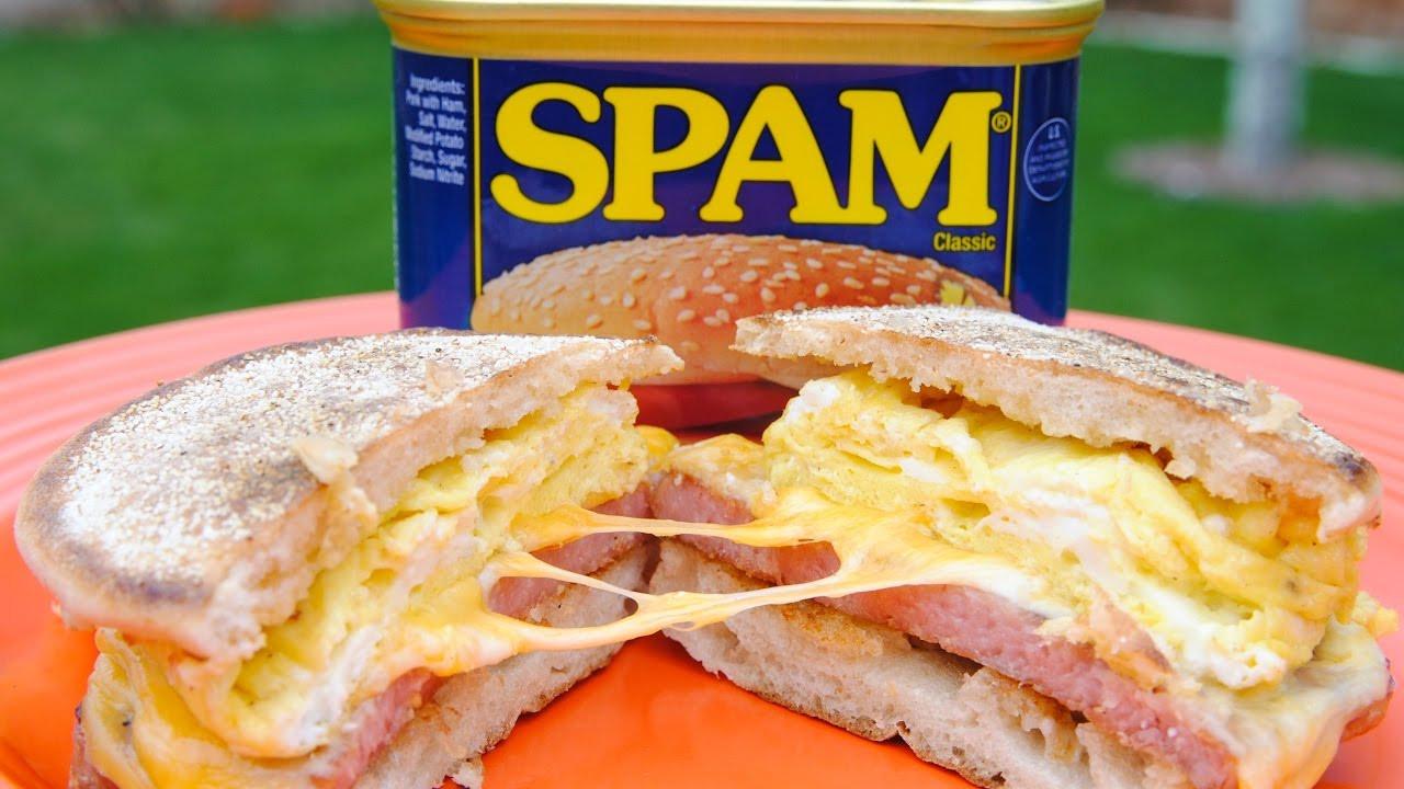 Spam Breakfast Recipes  SPAM Breakfast Sandwich