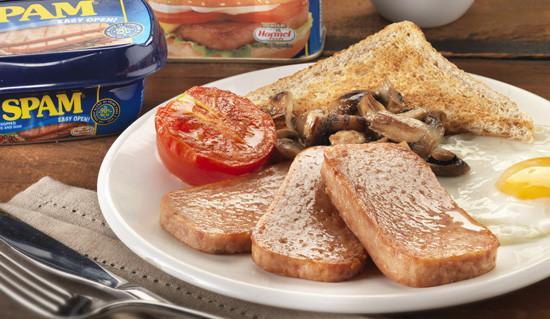 Spam Breakfast Recipes  SPAM Breakfast