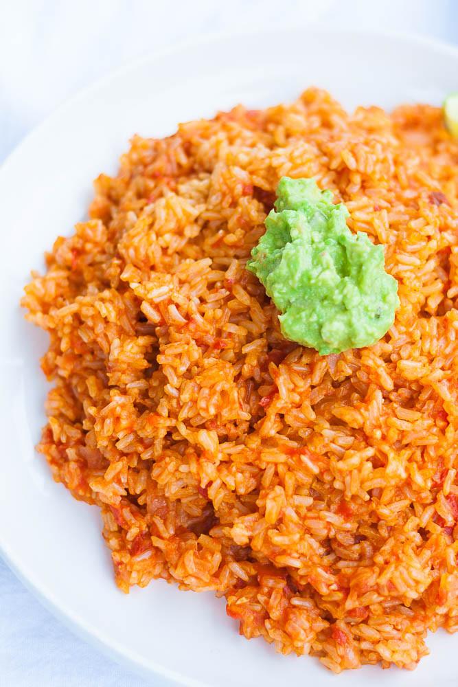 Spanish Rice Instant Pot  Instant Pot Spanish Rice Nora Cooks