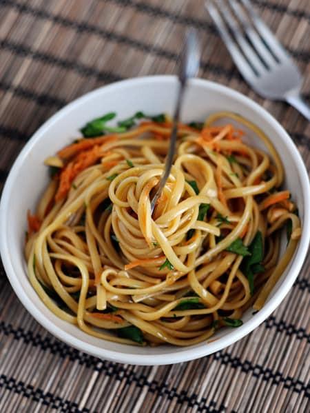 Spicy Thai Noodles  Super Simple Spicy Thai Noodles