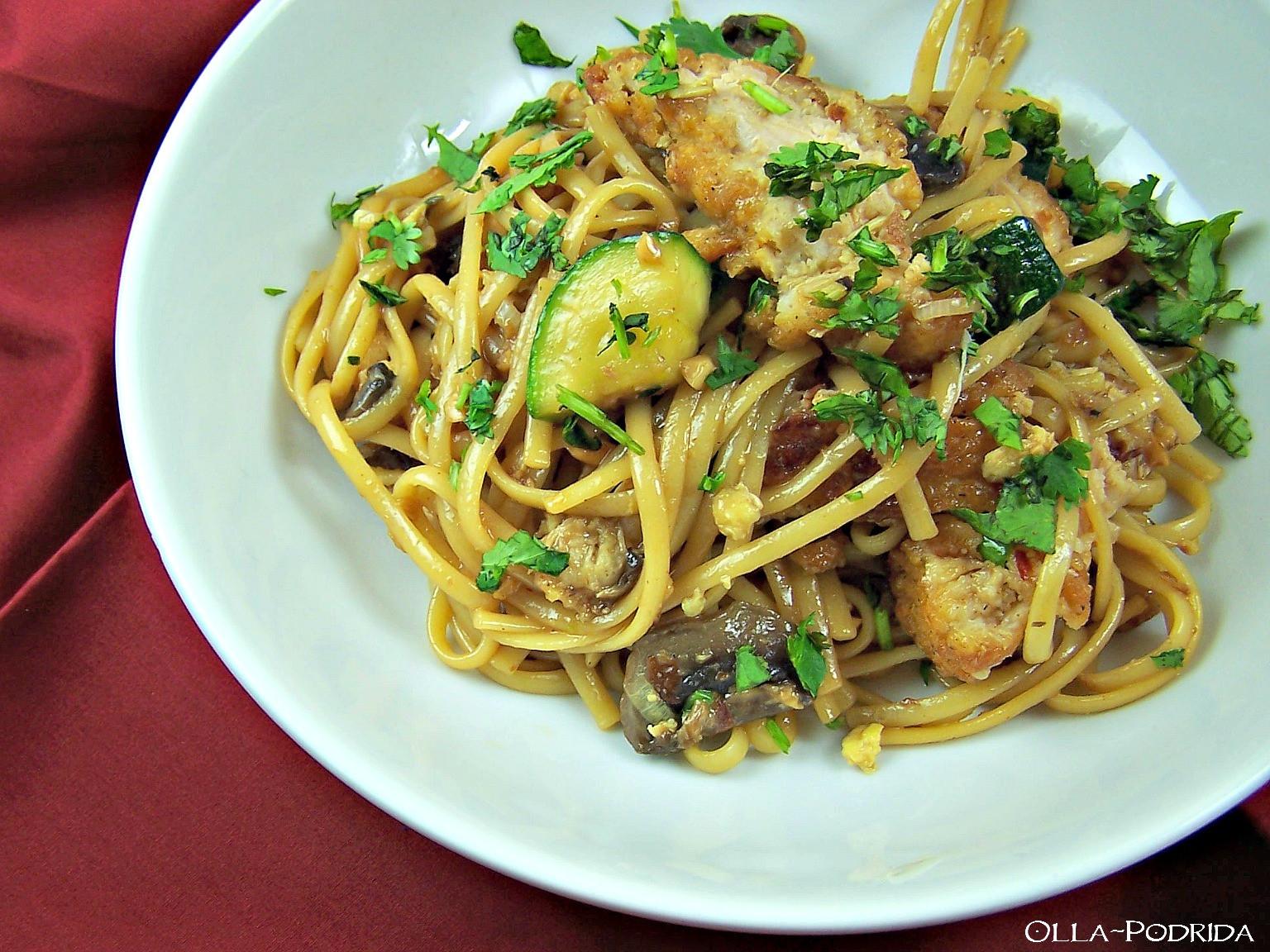Spicy Thai Noodles  Olla Podrida Spicy Thai Noodles