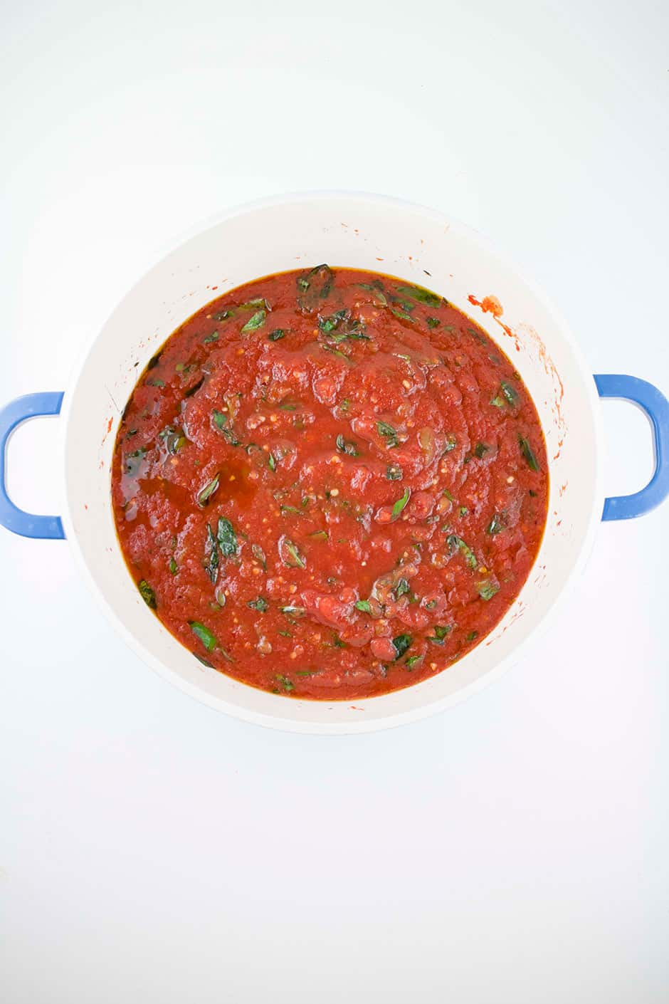 Spicy Tomato Sauce  Spicy Italian Crushed Tomato Sauce Brooklyn Farm Girl