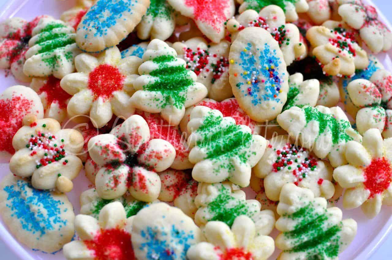 Spritz Cookies Recipe  Simple Spritz Cookies
