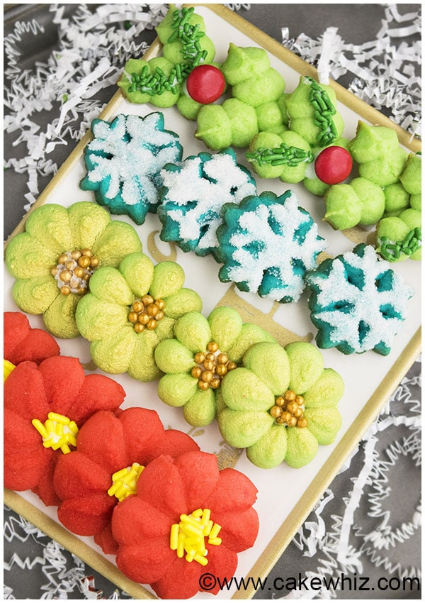 Spritz Cookies Recipe  Classic Spritz Cookies CakeWhiz
