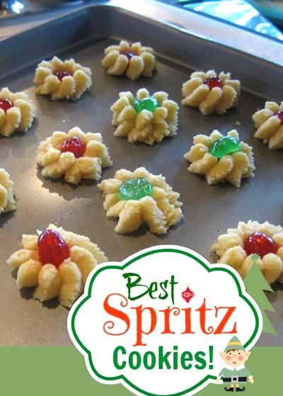 Spritz Cookies Recipe  Spritz Cookies Recipe Swedish Butter Cookies