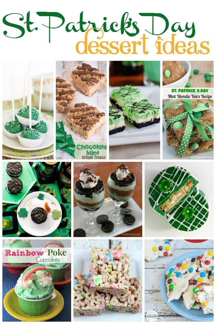 St Patrick'S Day Dessert Ideas  St Patrick s Day Dessert Ideas A Grande Life