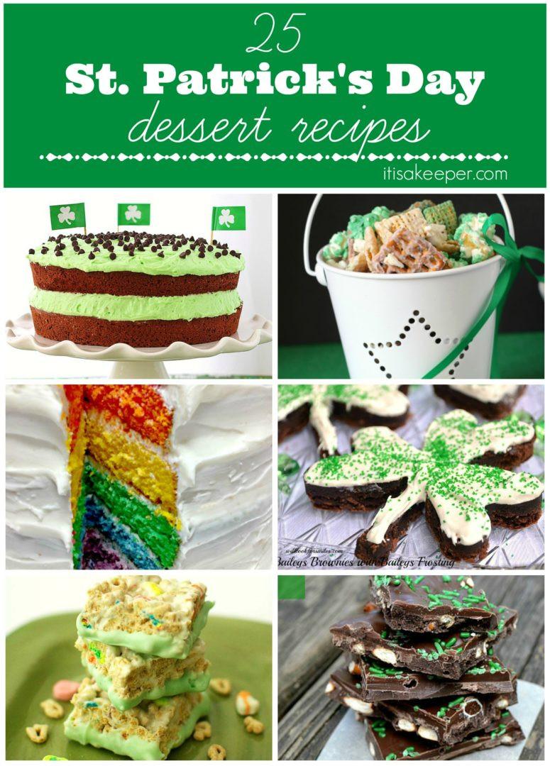 St Patrick'S Day Dessert Ideas  Saint Patricks Day Recipes Desserts It s a Keeper